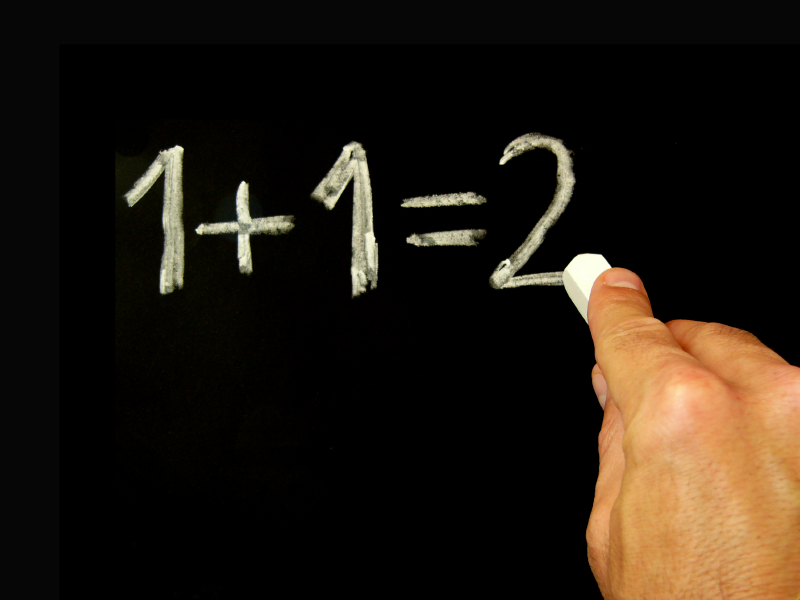 Does 1 + 1 = 2?